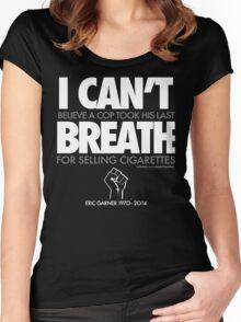 ERIC GARNER: Still unbelieveable Women's Fitted Scoop T-Shirt