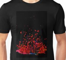 Paint Sculpture - High speed photography of splashes of paint  Unisex T-Shirt