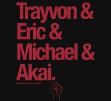 Eric & Trayvon & Akai & Michael by EqualiTEEZ