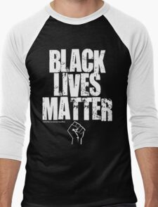 BLACK LIVES MATTER TOO Men's Baseball ¾ T-Shirt