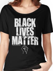 BLACK LIVES MATTER TOO Women's Relaxed Fit T-Shirt