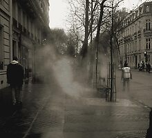 Asphalt in the rain by mkl .