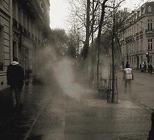 Asphalt in the rain by mkl .