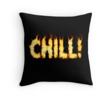 SOLD - SMOKIN' HOT TYPOGRAPHY Throw Pillow
