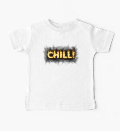 SOLD - SMOKIN' HOT TYPOGRAPHY Baby Tee