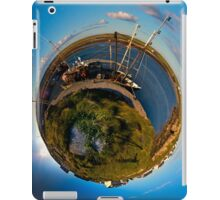 Fishing Boat, Killeany Pier, Inishmore, Aran Islands iPad Case/Skin