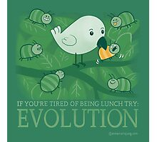 Try Evolution! Photographic Print
