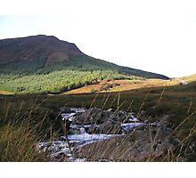 Goat Fell and River Photographic Print