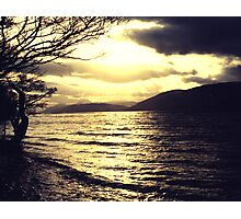 Gold and black - Loch Ness Photographic Print