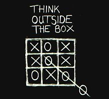 Think Outside The Box! Men's Baseball ¾ T-Shirt