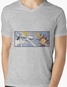 Whaam! A Modern reimagining Mens V-Neck T-Shirt