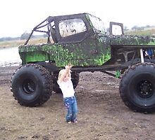 Green Jeep by Angelik99