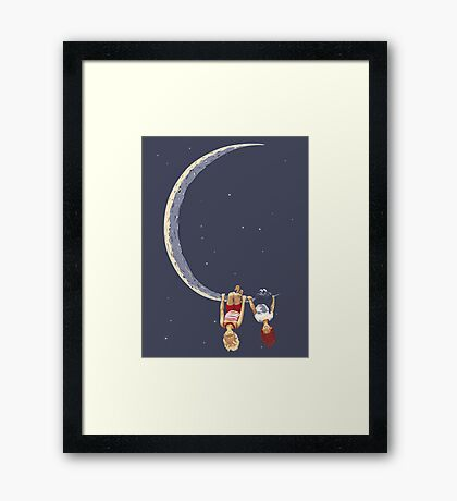 No Matter Where We Are Framed Print