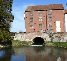 Watermill on the River Wensum in Norfolk by johnny2sheds