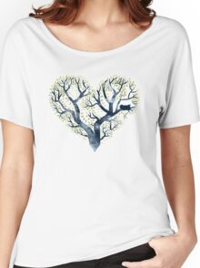 Home is where the nest is Women's Relaxed Fit T-Shirt