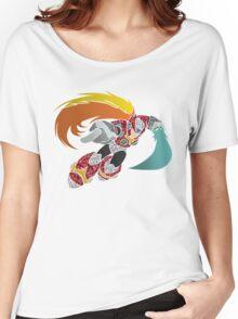 Geometric Zero Illustration Women's Relaxed Fit T-Shirt