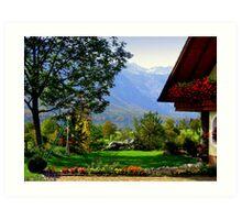 Slovenia Art Print
