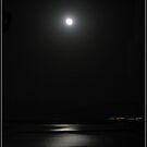 Night on sea by Efi Keren