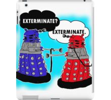 The fault in our daleks iPad Case/Skin