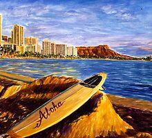 Hawaii Surfing by bihusyak