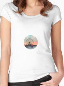 Ferris Wheels on Fire Women's Fitted Scoop T-Shirt