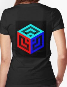 Squared Away Womens Fitted T-Shirt