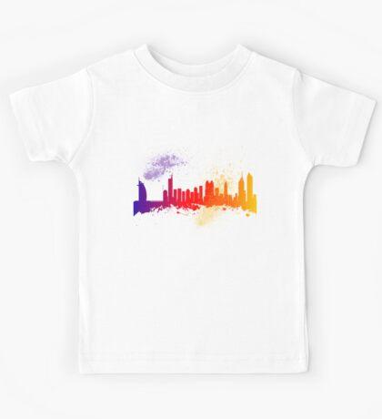 Dubai  Skyline  Kids Tee