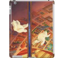 The Christmas Bear - Little Polar Bear Tumbles In iPad Case/Skin