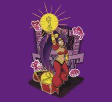 Shantae and Key by OmegaSunBurst