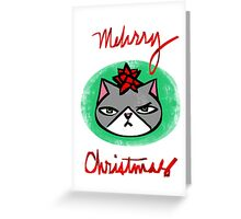 Mehrry Christmas Greeting Card