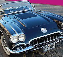 1958 Corvette 2 by Pat Herlihy