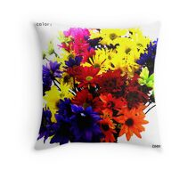 GOT ANY COLOR? Throw Pillow