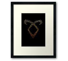 Angelic Rune Framed Print