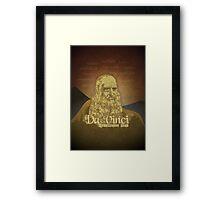Leonardo DaVinci's legacy Framed Print