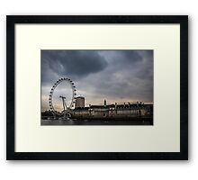 River View with London Eye Framed Print