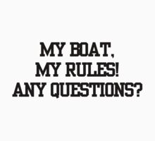 My Boat, My Rules!! by Lady Enygma