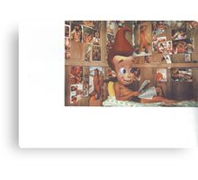 Jimmy becomes James Canvas Print