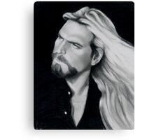 Friend In Art - Chuck Vest Canvas Print