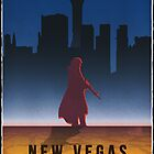 Fallout New Vegas Vintage Style Poster by Aaron Patey