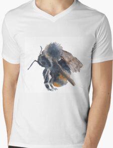 Little bee Mens V-Neck T-Shirt