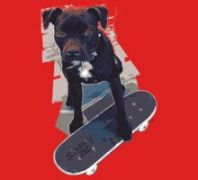 SK8 Staffy Dog One Piece - Long Sleeve