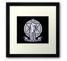 Full metal alchemist - mustang Framed Print