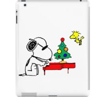 Merry Snoopy iPad Case/Skin