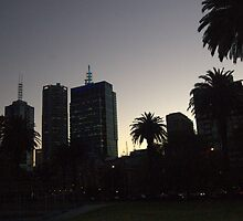 Part of Melbourne's Skyline  by lettie1957