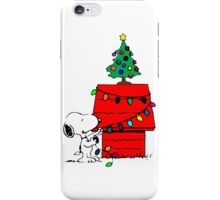 Christmas Snoopy  iPhone Case/Skin