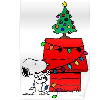 Christmas Snoopy  Poster