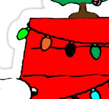 Christmas Snoopy  Sticker