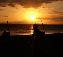 Fijian Sunset 2 by AlMiller