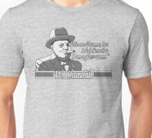 Churchill - Glow Worm Unisex T-Shirt