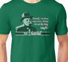 Churchill - Learning Unisex T-Shirt